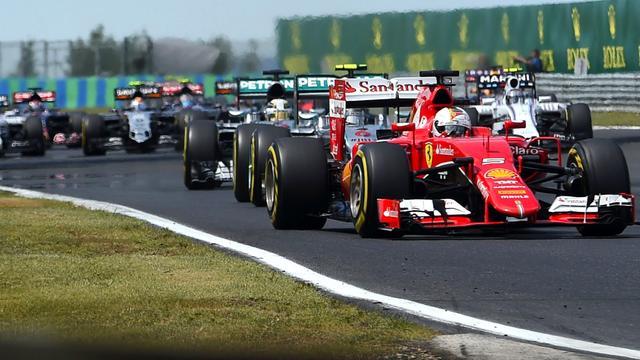 Grand Prix Hongarije tot en met 2026 op Formule 1-kalender
