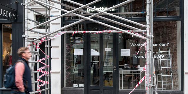 Gloednieuwe brillenwinkel Polette na twee dagen al compleet leeggeroofd