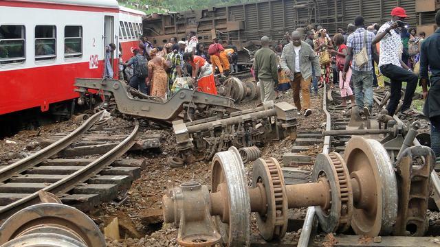 'Trein reed te hard bij dodelijk ongeluk in Kameroen'