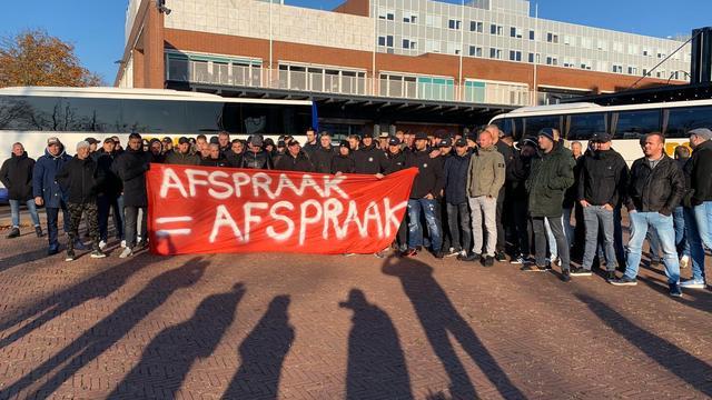 Demonstratie FC Utrecht-supporters in Amsterdam 'rimpelloos' verlopen