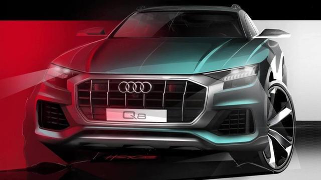 Audi toont schetsen van aanstaande Q8