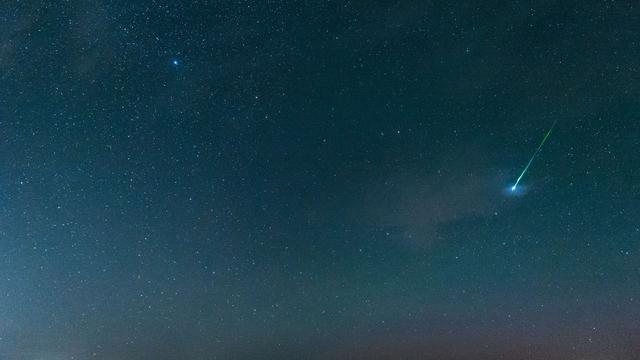 Zwerm vallende sterren moeilijk te zien vanwege bewolking