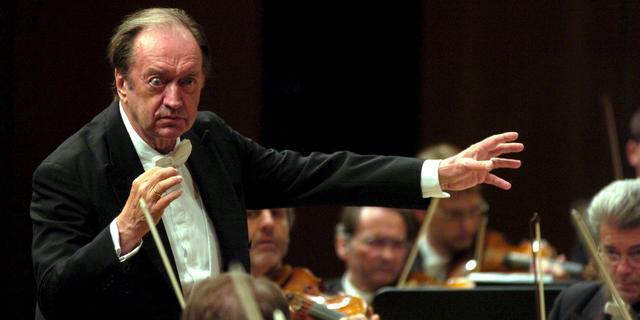Beroemde Oostenrijkse dirigent Harnoncourt stopt