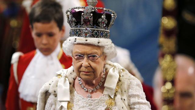 Koningin Elizabeth presenteert plannen Britse regering
