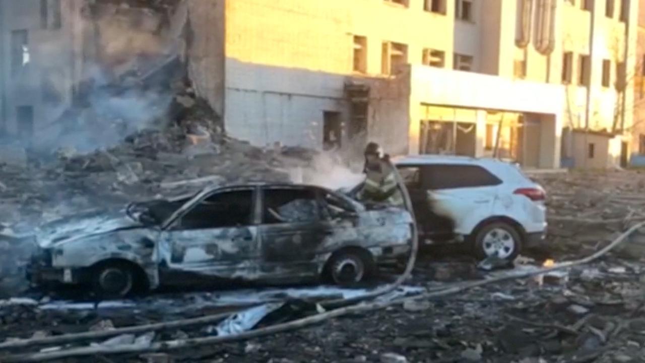 Ravage na explosie vuurwerkfabriek Rusland