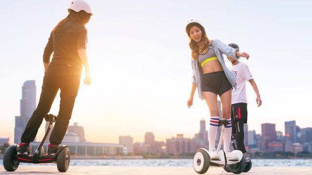 Elektrische scooter van Xiaomi met smartphone te besturen