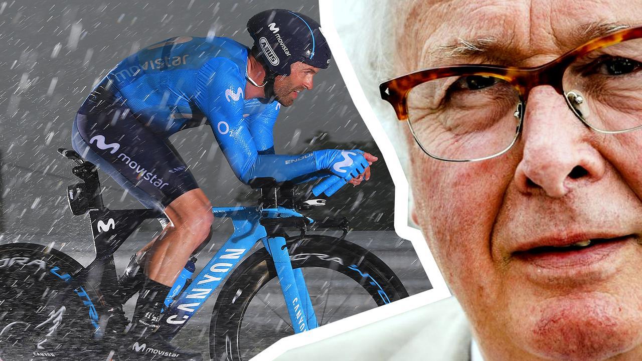 Mart bespreekt de Giro: 'Het was een enorm natte tijdrit'