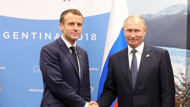 Frankrijk en Duitsland gaan met Rusland en Oekraïne praten over conflict