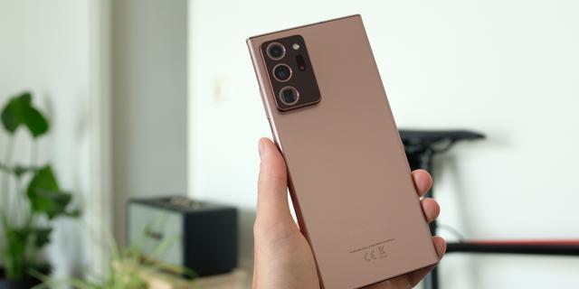 Review: De Samsung Note 20 Ultra is een toptelefoon die niet verrast