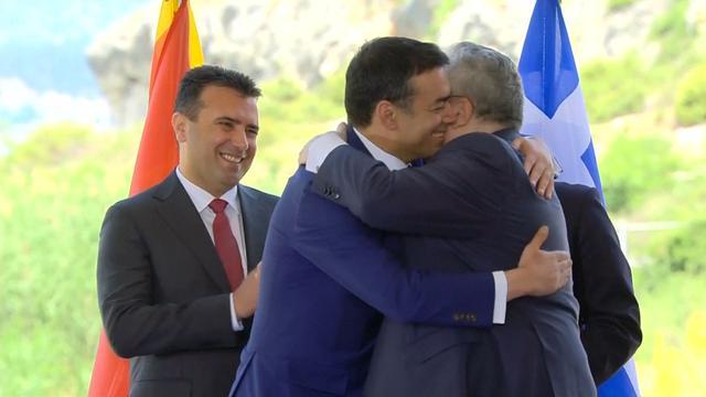 Ministers Griekenland en Macedonië blij met nieuwe naam