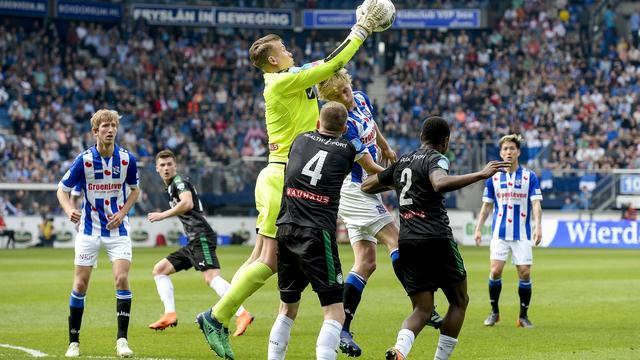 Heerenveen-Groningen en Utrecht-ADO eindigen in gelijkspel