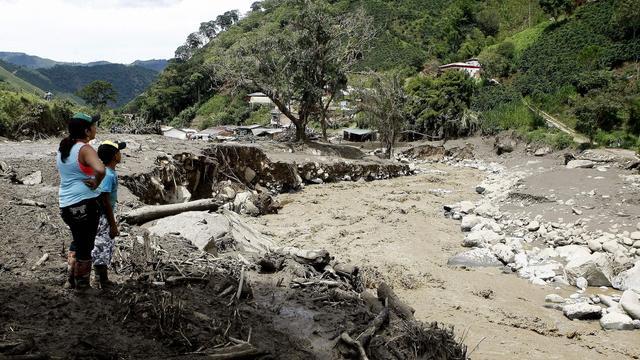 Nederland stuurt waterexperts naar Colombia om overstromingen
