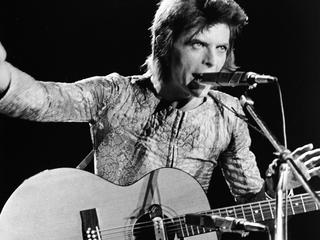 Zanger trad in het Britse plaatsje voor het eerst op als Ziggy Stardust