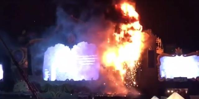 Twintigduizend festivalgangers Barcelona geëvacueerd na brand