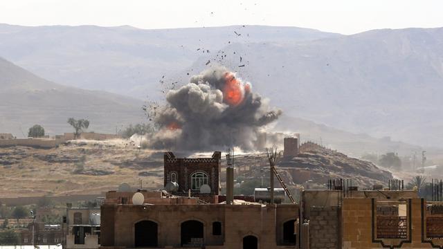 'Meer dan honderd doden bij luchtaanval op gevangenis in Jemen'