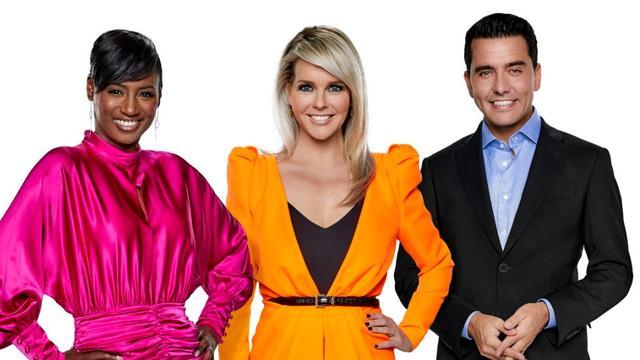 En de presentatoren van het Eurovisie Songfestival zijn...