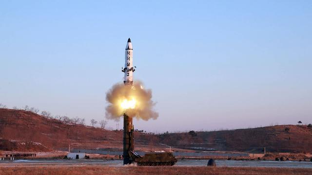 Noord-Korea vuurt ballistische raket af