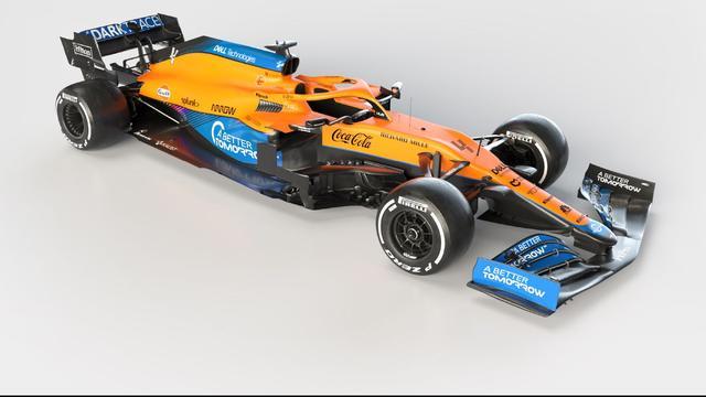 McLaren stapte in de winter over van een motor van Renault naar een krachtbron van Mercedes.