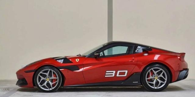Unieke Ferrari duikt op bij autobedrijf in Texas