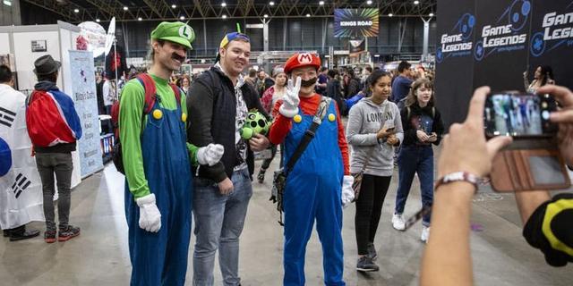 Dutch Comic Con in Jaarbeurs Utrecht