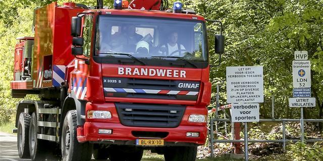 Brandweer bevrijdt kind uit speeltoestel in Bavel