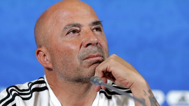 Bondscoach Sampaoli wil nog niks zeggen over toekomst bij Argentinië
