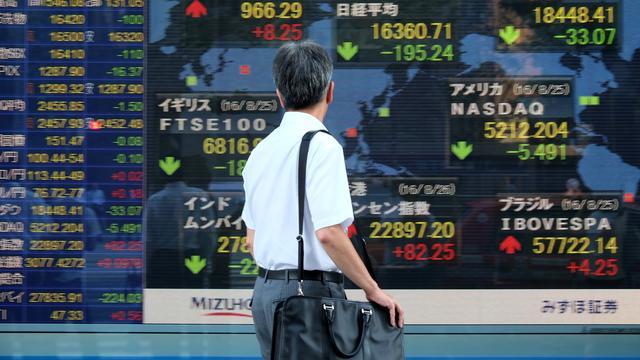 Weinig beweging op Aziatische beurs