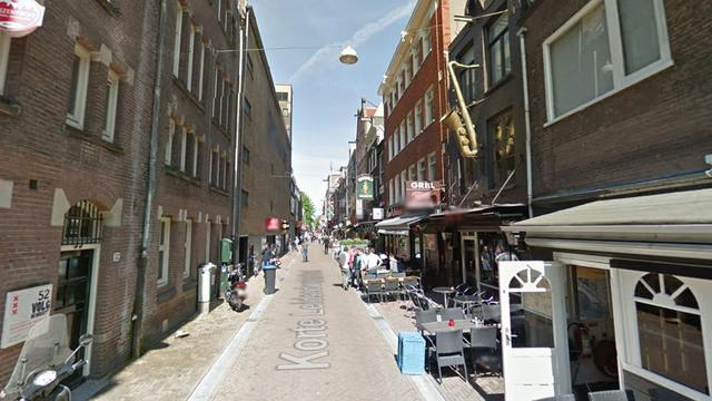 Persoon gewond na vechtpartij op Korte Leidsedwarsstraat