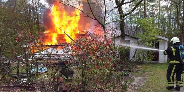 Vier gewonden door explosie in vakantiewoning Nunspeet