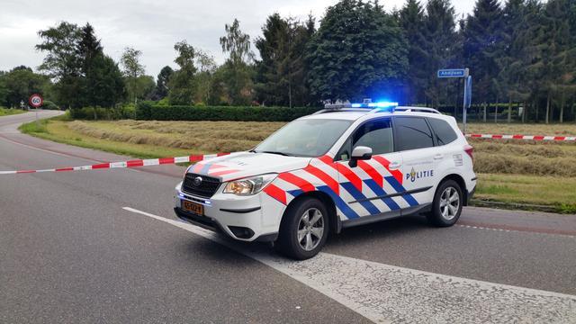 Automobilist verongelukt op Abdijlaan bij Huijbergen