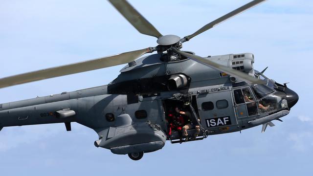Spaanse legerhelikopter gecrasht in Atlantische Oceaan