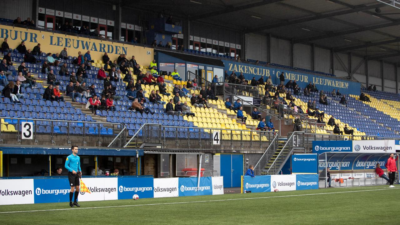 Cambuur In Double Digits At First Exhibition Game With Audience Since Corona Stop Teller Report