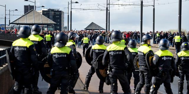 Aanvullend politieonderzoek naar rellen rond Bekerfinale