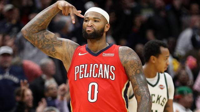 NBA-ster DeMarcus Cousins naar kampioen Golden State Warriors
