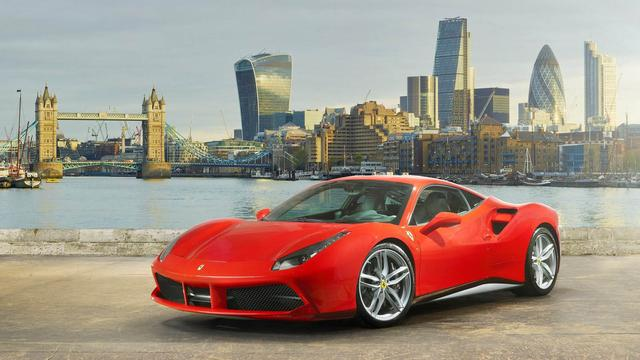 Terugroepactie Ferrari in de Verenigde Staten