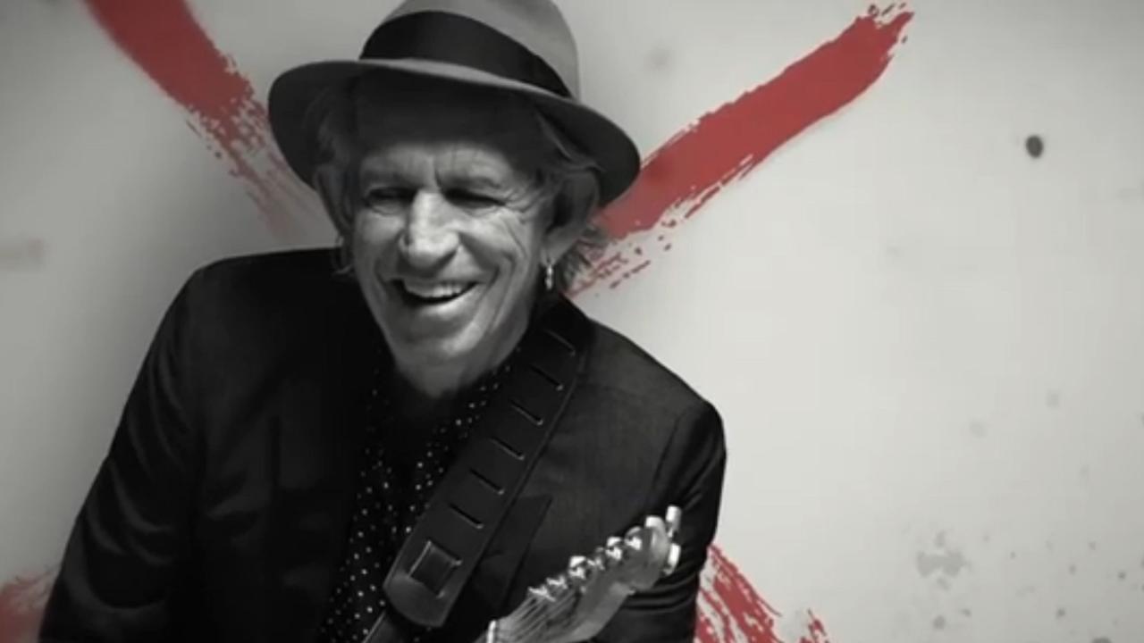 Keith Richards met Crosseyed Heart - promo