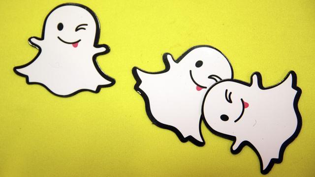 Aantal Snapchat-gebruikers groeit flink naar 203 miljoen