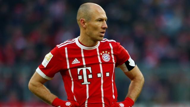 Robben lijdt met Bayern tegen Hertha zeldzaam puntenverlies