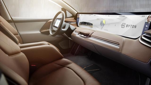 Chinese Startup Werkt Aan Slimme Auto Met Enorm Dashboard Scherm
