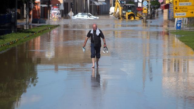 Servië roept noodtoestand uit voor overstromingen