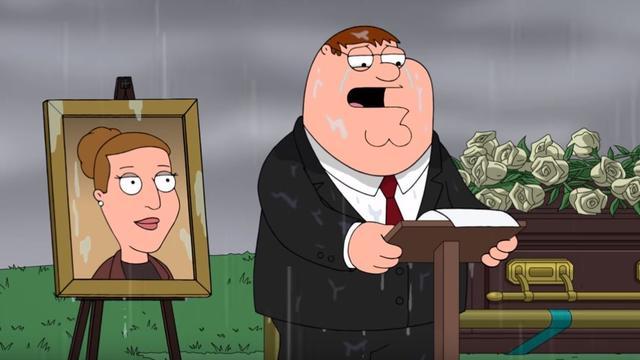 Family Guy brengt ode aan overleden Carrie Fisher
