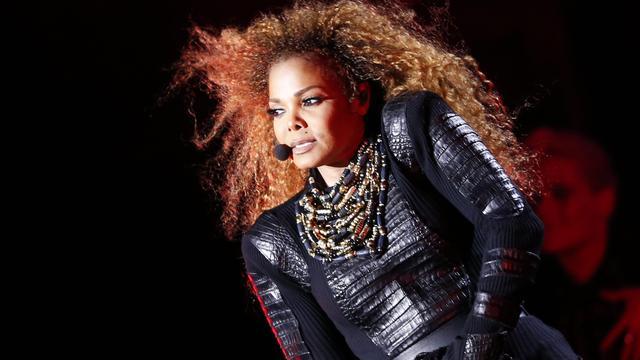 Janet Jackson en 1-jarige zoon fan van Bruno Mars