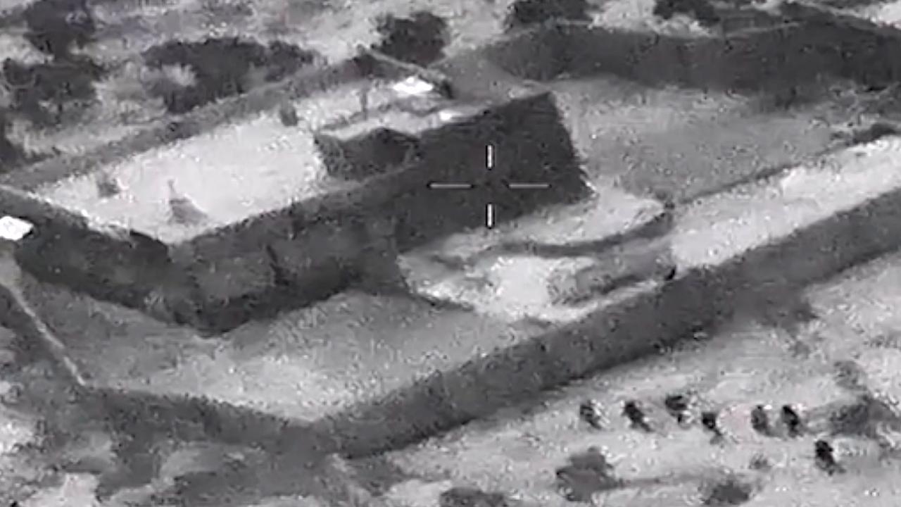 Pentagon deelt beelden van aanval op IS-leider in Syrië