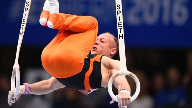 Van Gelder grijpt opnieuw naast EK-medaille op ringen