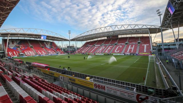 FC Utrecht staat tijdens thuisduel met Feyenoord stil bij aanslag in stad