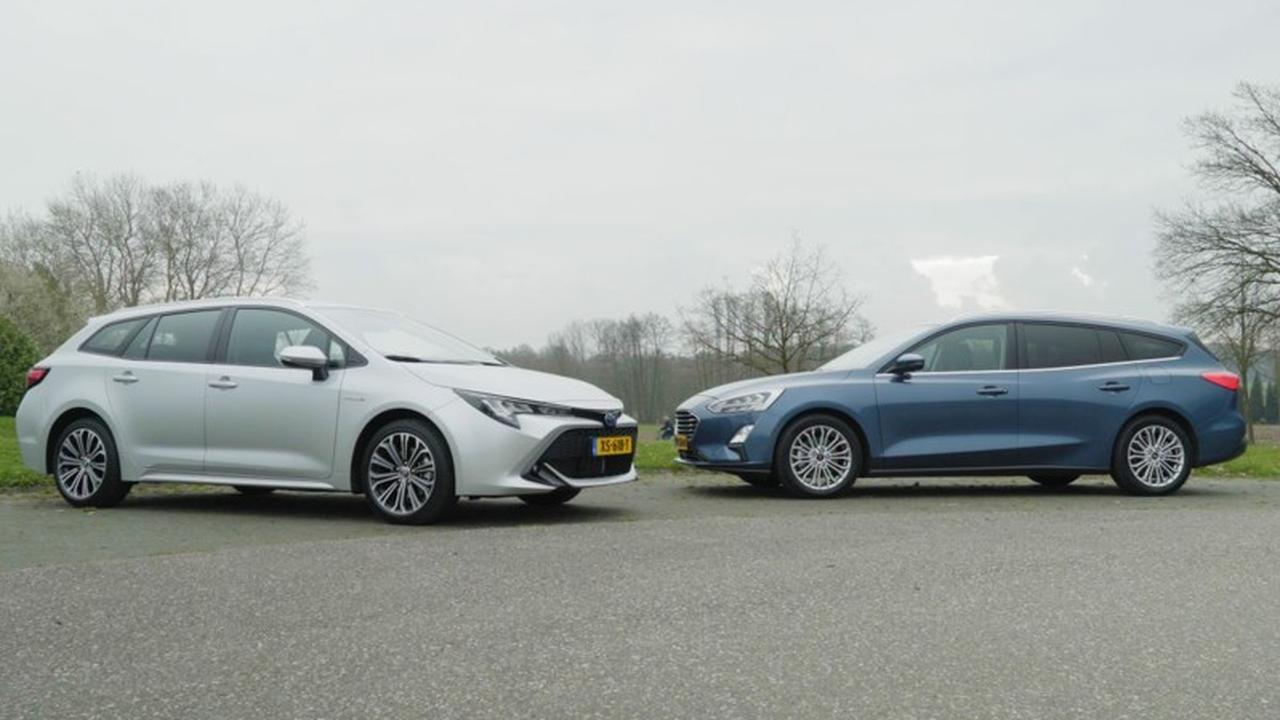 Eerste dubbeltest: Teruggekeerde Toyota Corolla ontmoet Ford Focus