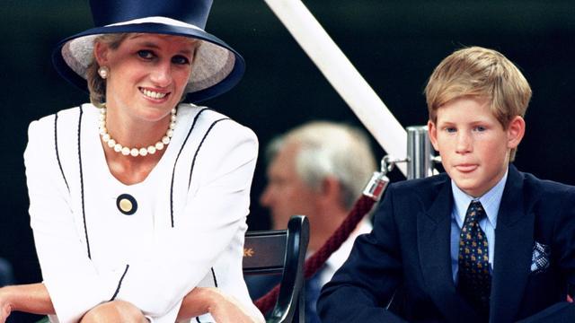 Prins Harry wil monument voor prinses Diana