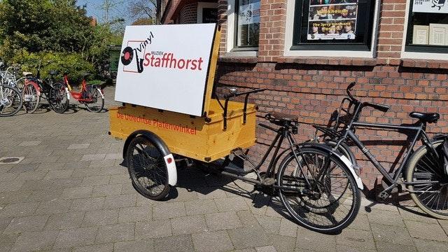 Platenwinkel Staffhorst Vinyl aan Willem van Noortplein is failliet