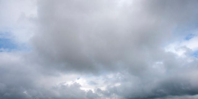 Het weer: Bewolking en motregen