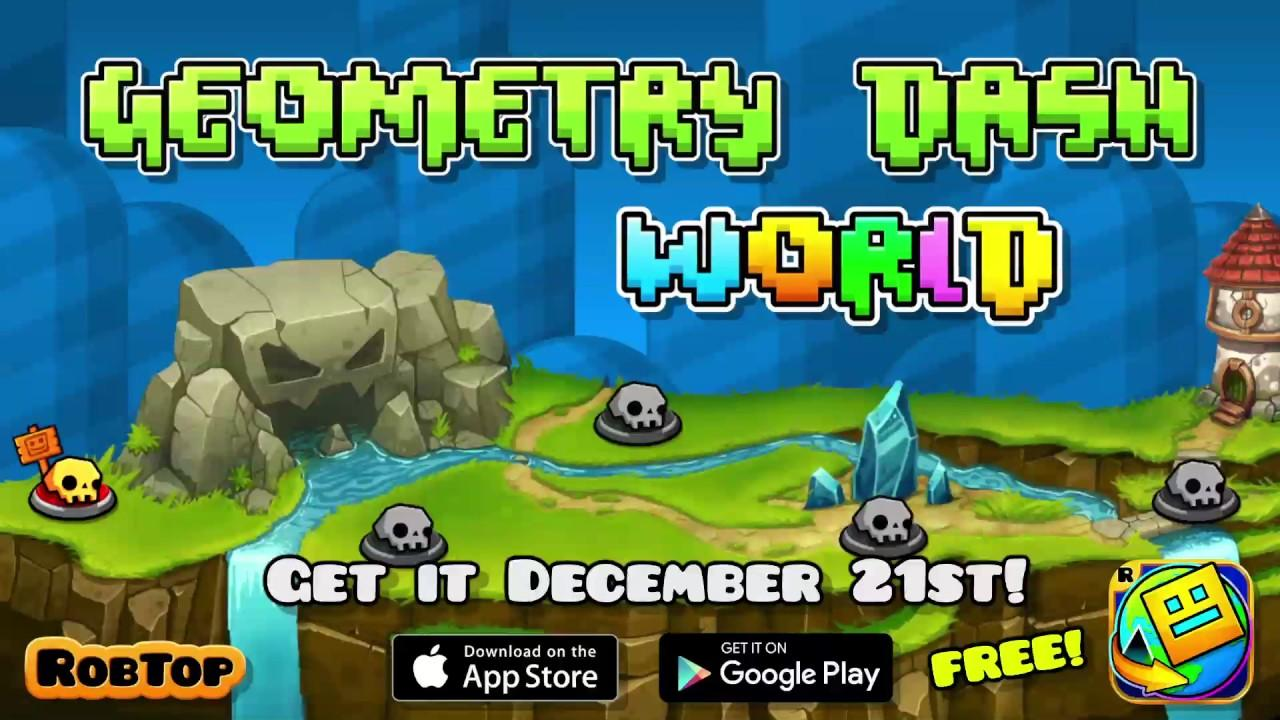Trailer: Geometry Dash World